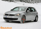 AutoSock snow socks on VW Golf