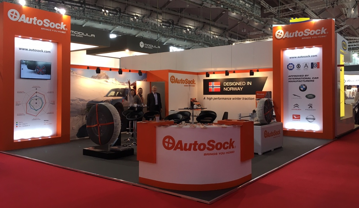 On Show - AutoSock on display at AutoMechanika