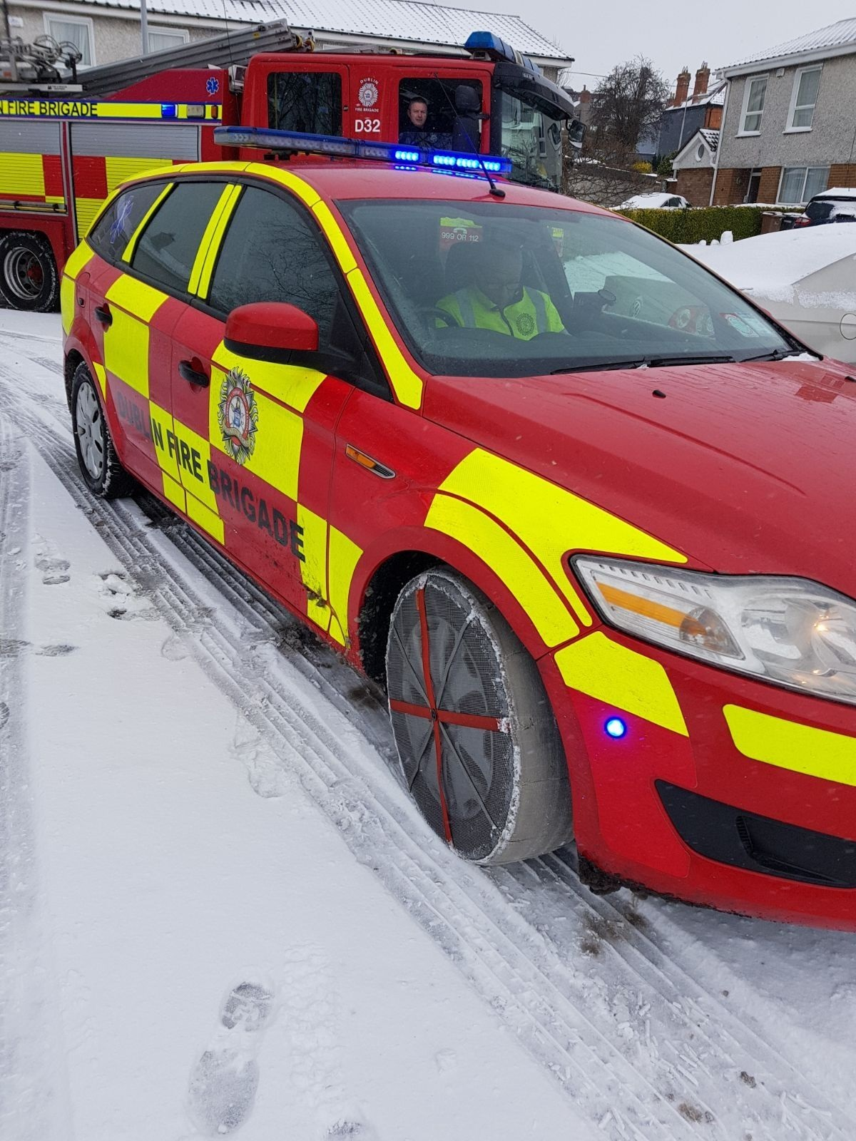AutoSock used by Dublin Fire Service
